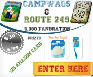 5K Fanbration for Camp Wags and Route 249 Giveaway ends 6/9