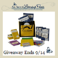 All About Learning Giveaway- ends 9/14