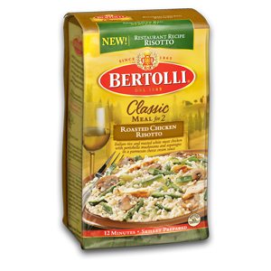 Bertolli Classic Risotto Prize pack- ends 11/5 at 1159p
