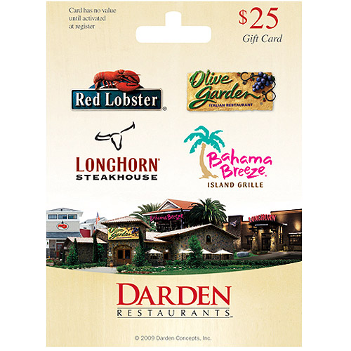 Dining Well Olive Garden For Mom: Pay It Forward 4~Hour Flash Giveaway ~~ Win A $25 Darden's