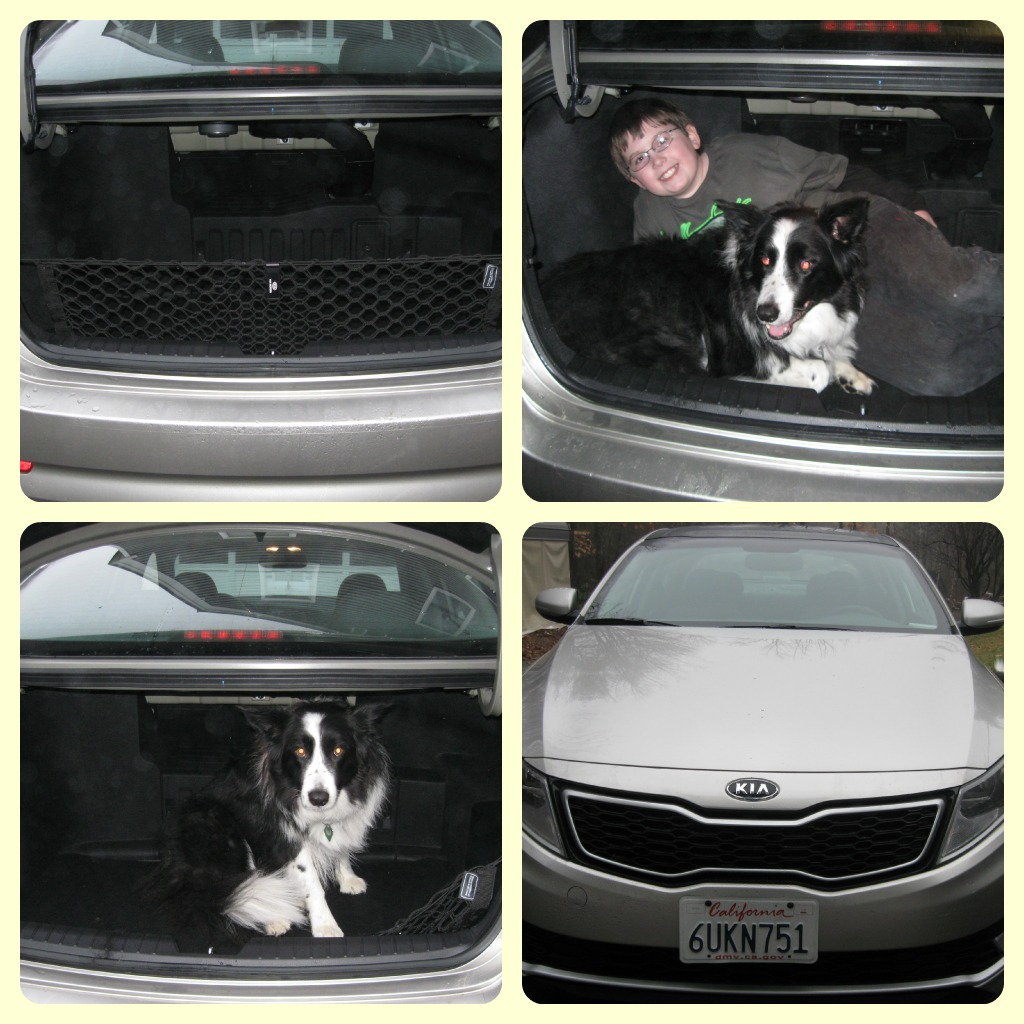 kia optima trunk