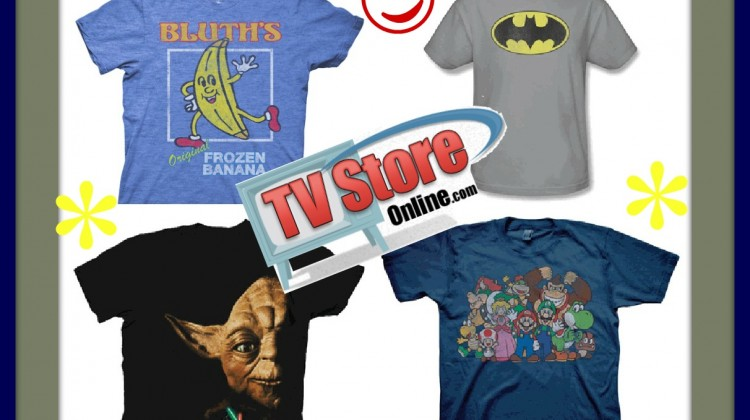 2 Winners- TV Store Online Tshirts- ends 2/20 at 1159p