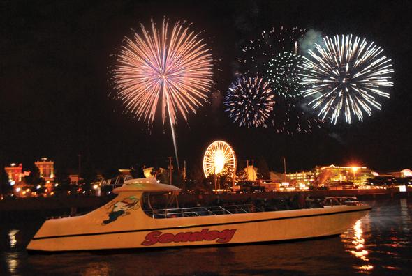 Seadog Fireworks Cruise- Here I Come!!