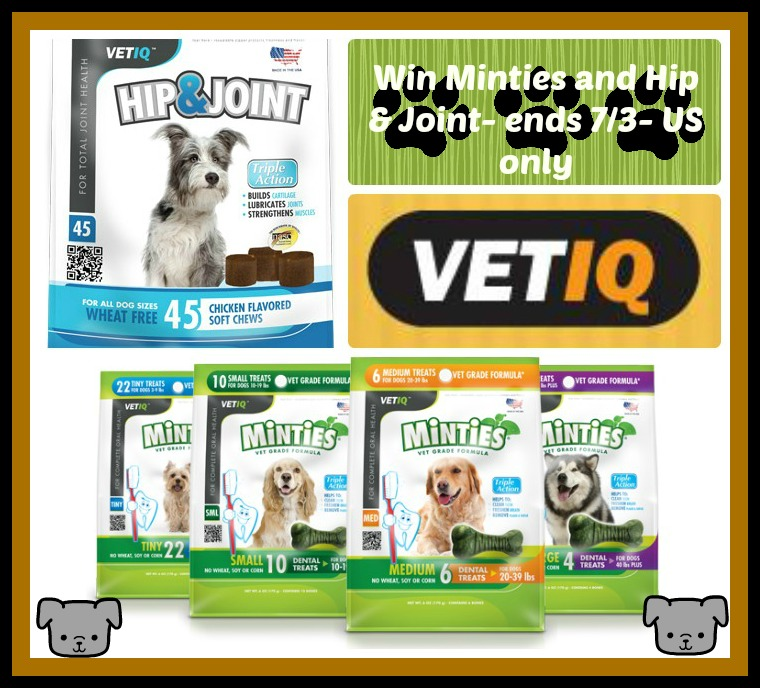 Minties Dogs Treats Hip And Joint