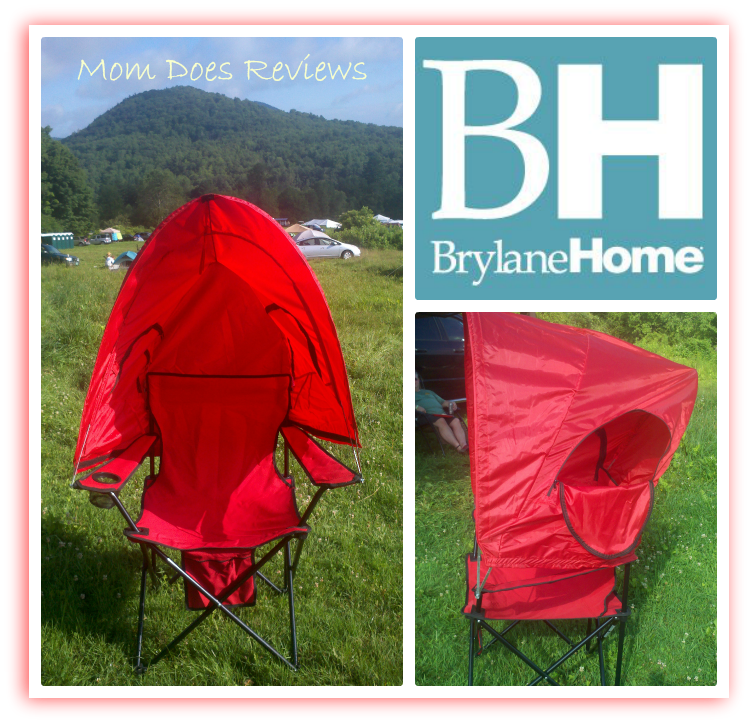 Brylane Home Canopy Camp Chair Review