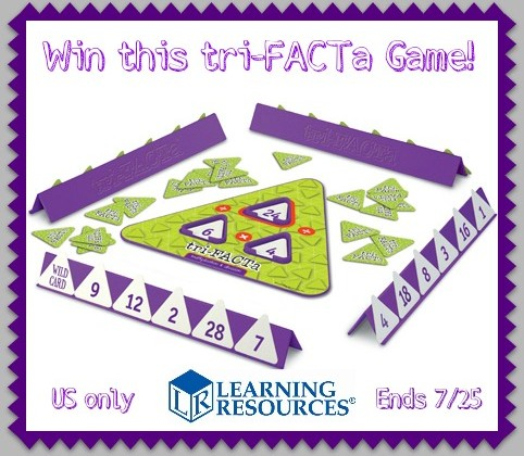 tri-FACTa Game #Review and #Giveaway- ends 7/25 US only