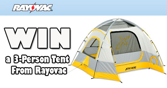 #WIn a 3-Person Xscape Tent! ends 9/5