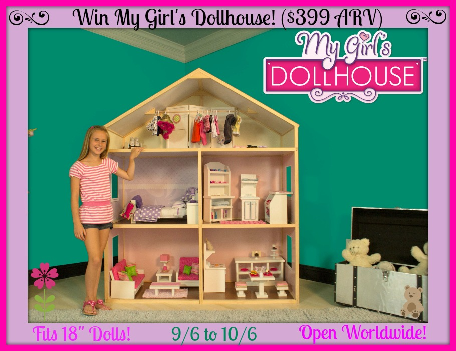 Toys For 8 And Up : Win this huge my girl s dollhouse arv ends ww
