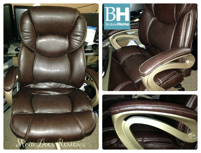 Brylane Home Extra Wide Memory Foam Office Chair Review
