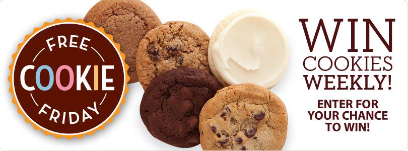 Every week, 2 winners will be chosen to win Cheryl's Cookie Sampler