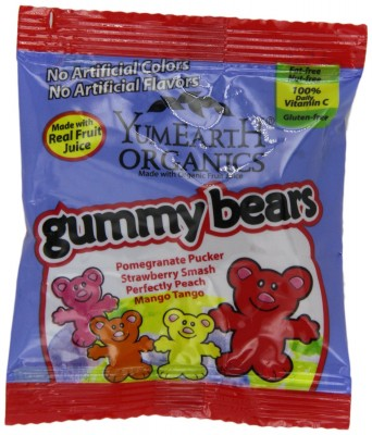 yum earth gummy bears