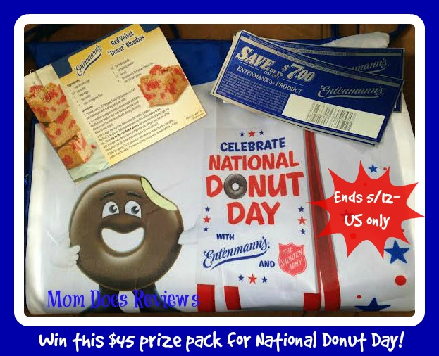 donut day prize button