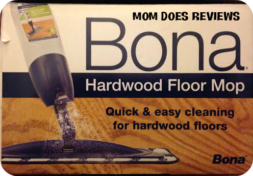Easy Cleaning with Bona Hardwood Floor Mop #Review -