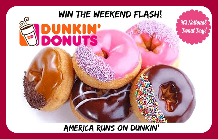 $30 Dunkin\' Donuts Gift Card Flash Giveaway!   Thrifty Momma Ramblings