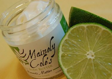 mainely coles body butter