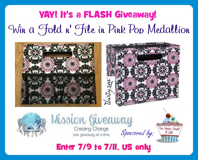 fold and file flash giveaway