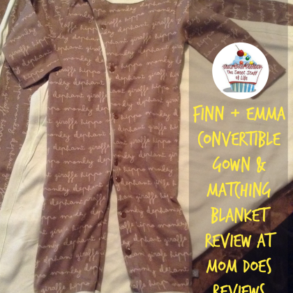 Finn + Emma Review at MomDoesReviews.com | 100% MOTS Certified Organic Cotton Baby Clothing and Accessories | #MomDoesReviews