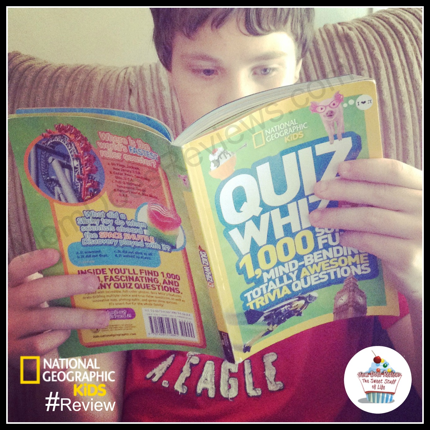 National Geographic Kids Quiz Whiz Review | #MomDoesReviews