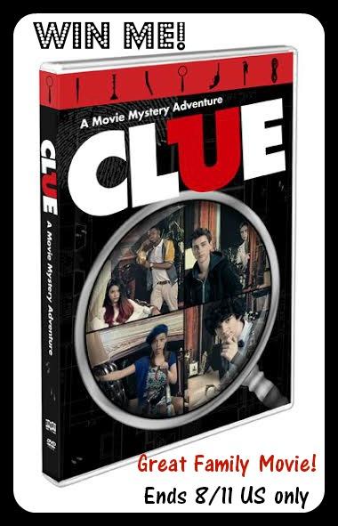 clue movie button
