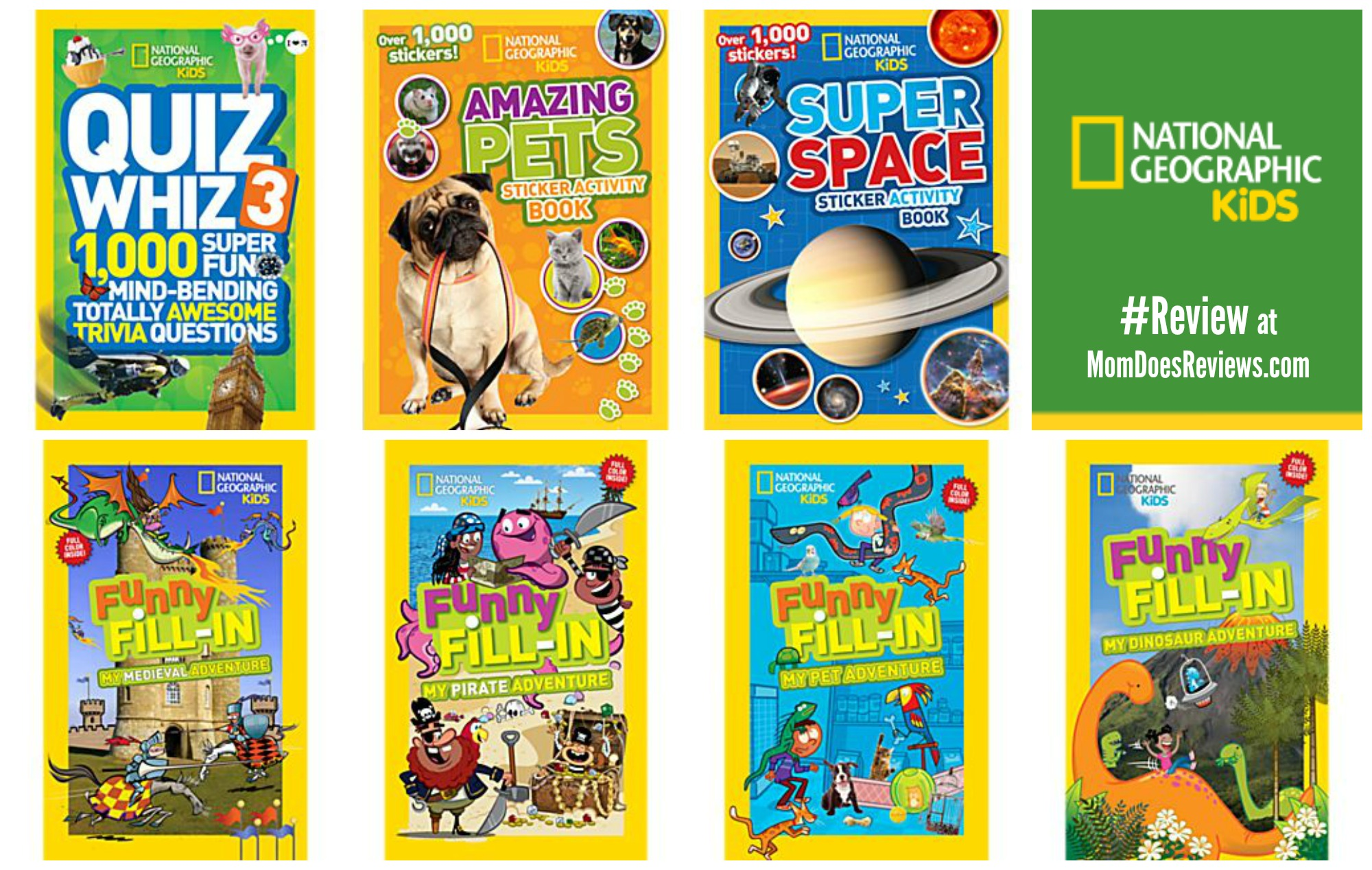 National Geographic Kids Books #Review| #MomDoesReviews