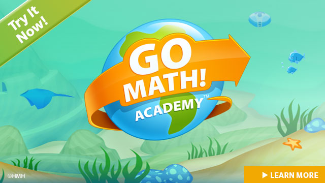 Go Math! Academy ~ Math CAN be fun! #HMHAcademy