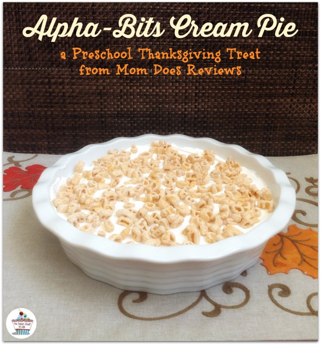 Alpha-Bits Cream Pie #Recipe