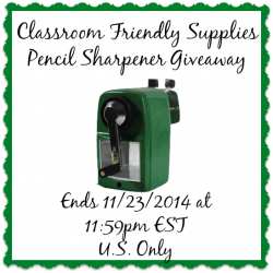 Classroom-Friendly-Supplies-Pencil-Sharpener-Giveaway-Ends-11-23-2014