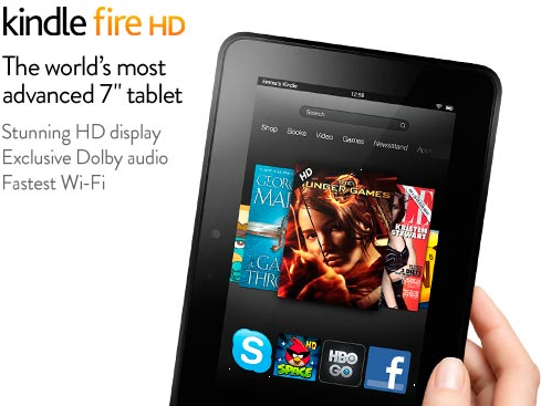 Kindle-Fire-HD with words