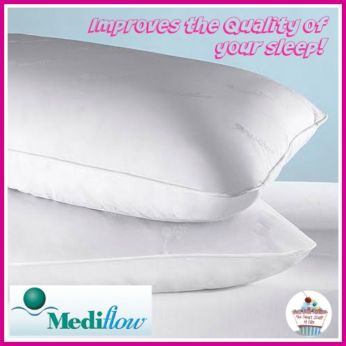 Water Pillows For Neck Pain: Mediflow Water Pillow #Review #ChristmasMDR14