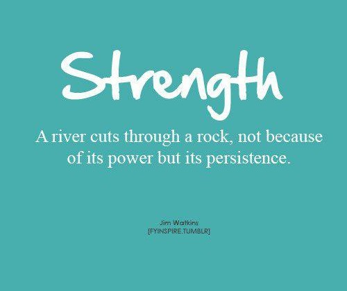 No Resolutions for 2015 Just #oneword365 #strength