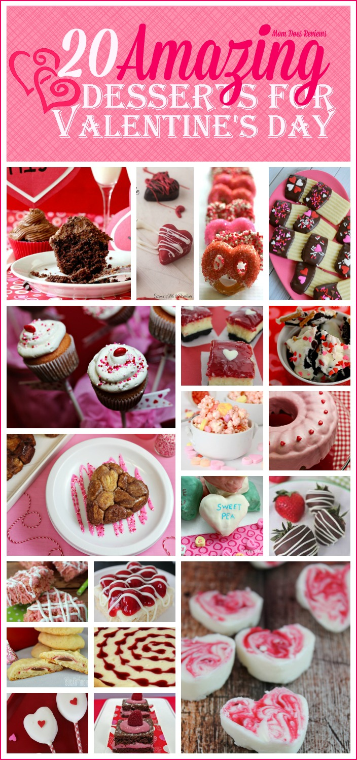 20 Amazing Valentine's Day Desserts #MomDoesReviews