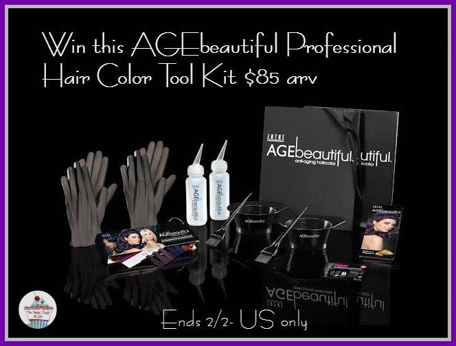age beautiful hair color kit giveaway