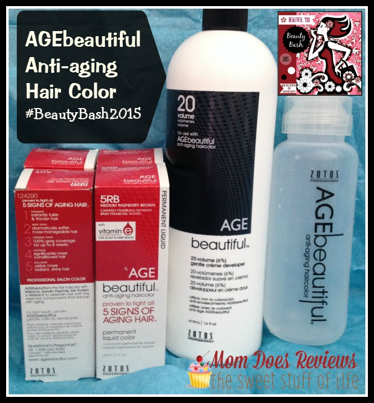 age beautiful hair color