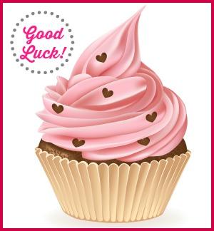 good luck cupcake