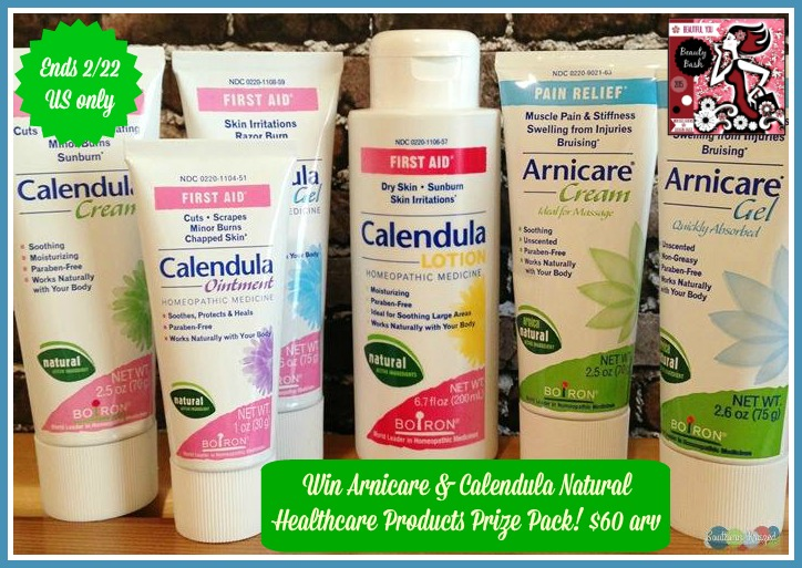 arnicare and calendula giveaway