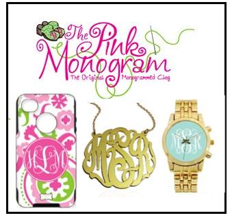pink mono logo good