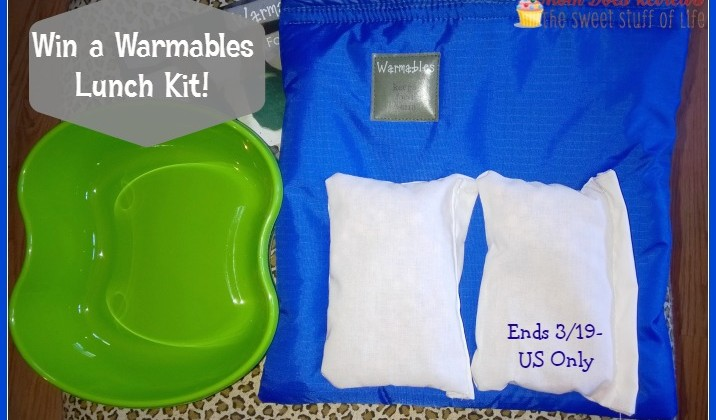 Warmables Lunch Kit #Giveaway National Pack your Lunch Day- US only 3/19