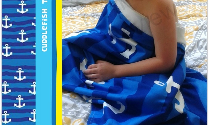 Cuddlefish Towel Company #Review #SizzlingSummer #MomDoesReviews