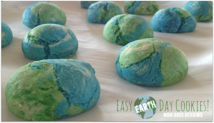 Easy Earth Day Cookies Made with Cake Mix