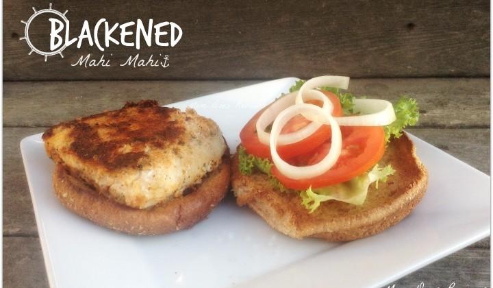 Blackened Mahi Mahi Sandwich #Recipe
