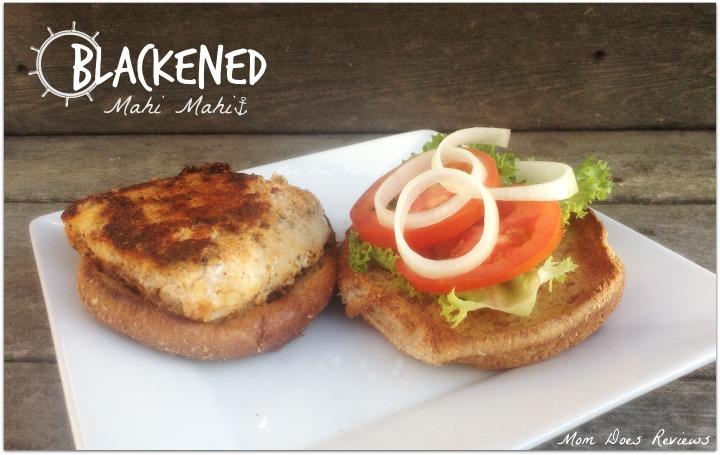 Blackened Mahi Mahi Sandwich Recipe
