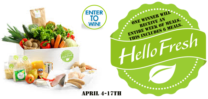 Win 1 Week Of Meals From Hello Fresh Us Only Ends 4 16