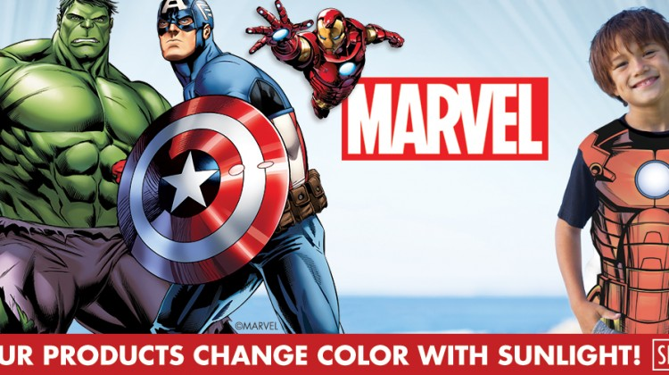 Marvel Avengers Color Changing Gear at Del Sol #DelSolColor #Review #Marvel
