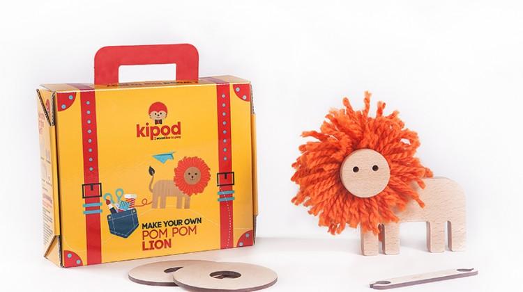 Kipod Creative Wooden Toys for Kids #KipodWorkshop
