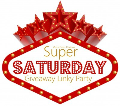 It's the Super Saturday Giveaway Linky Party!  Open ALL Week!