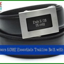Kore belt giveaway