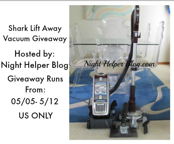 Win A Shark Lift Away Vacuum Us Ends 5 12