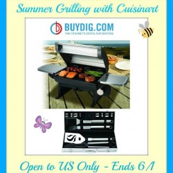 cuisinart ss table top grill