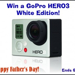 go pro hero3 white button
