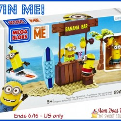 megablok minion beach giveaway